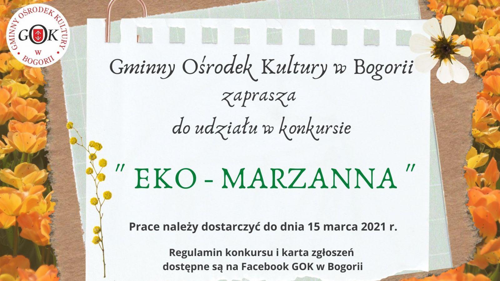 Konkurs Eko - Marzanna