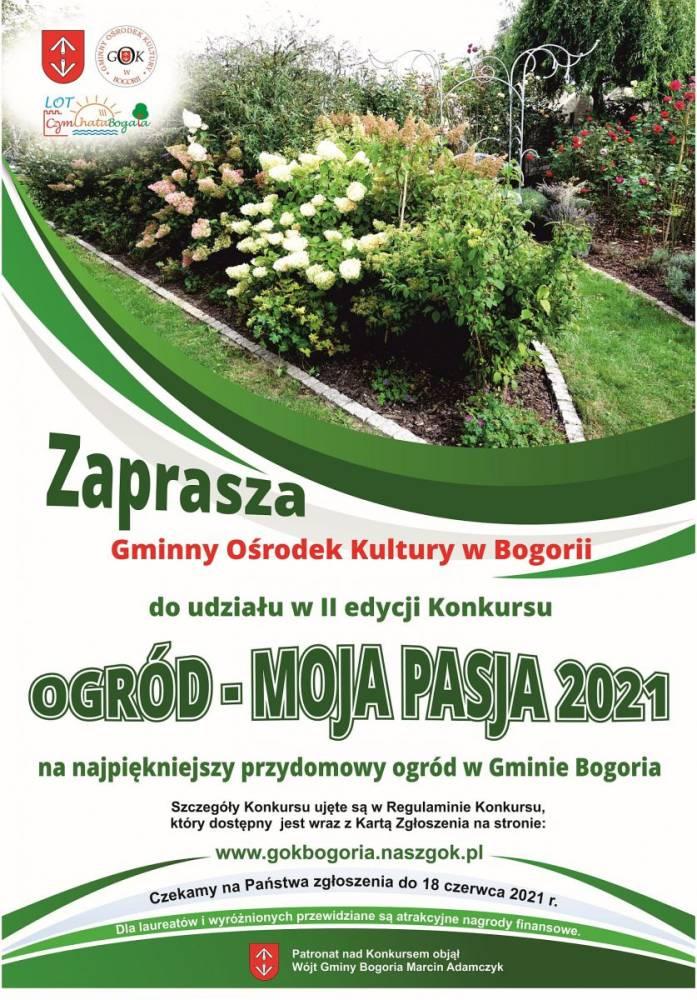 Ogród Moja Pasja 2021