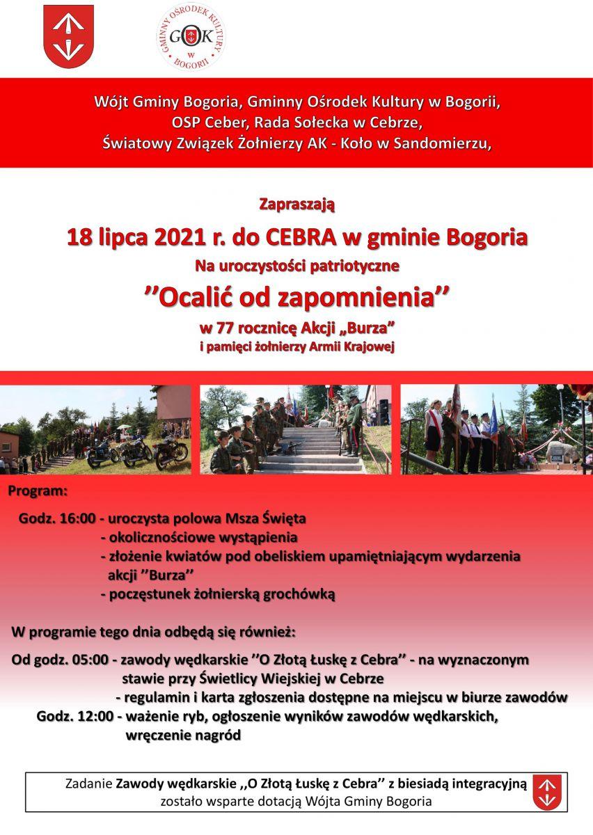 Uroczystości Ceber