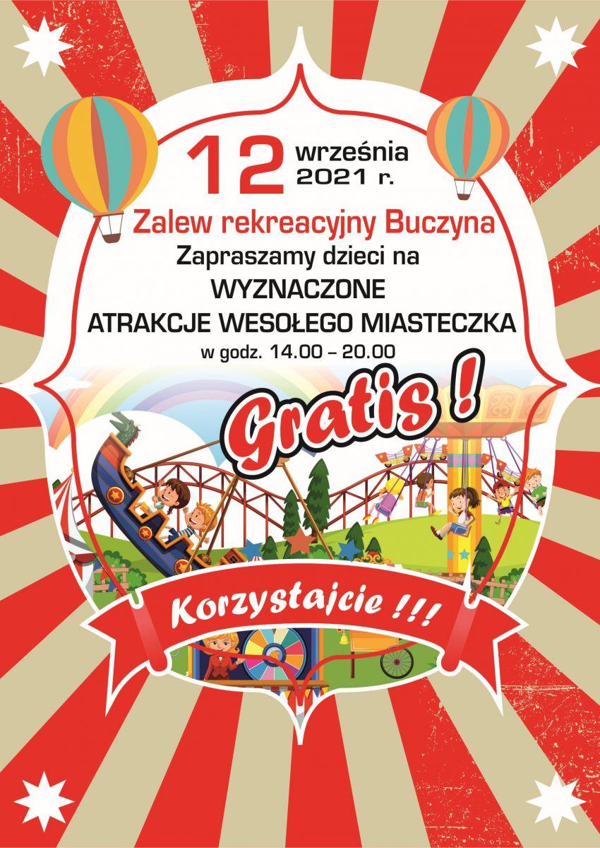 Wesołe miasteczko - Zalew Rekreacyjny Buczyna - 12.09.2021 r.