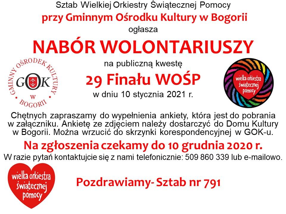 XXIX WOSP 2021