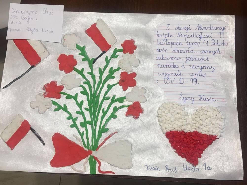 Wyniki konkursu plastycznego - GOK Bogoria - 10.11.2020 r.